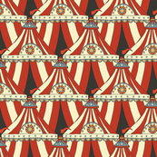 Circus Tents - vintage red