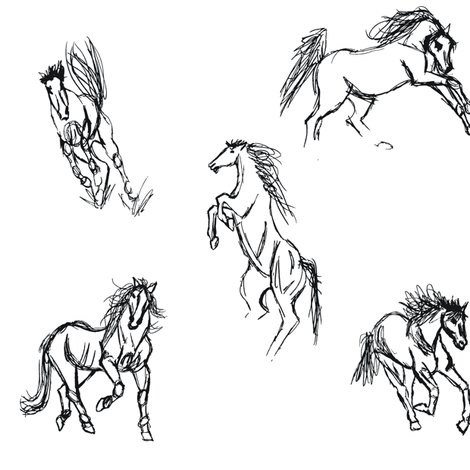 Rhorse_gestural_bw-01_shop_preview