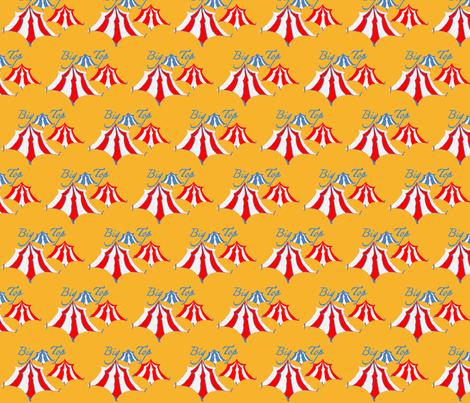 Big Top - tents fabric by kae50 on Spoonflower - custom fabric