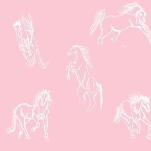 Equine Gestures Pink