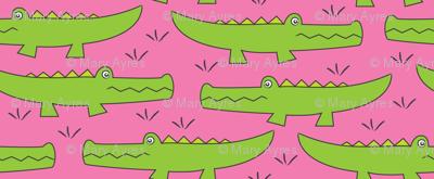lime green gators