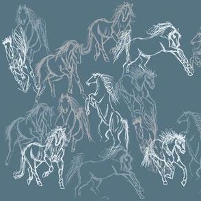 Equine Gestures Mountain Range