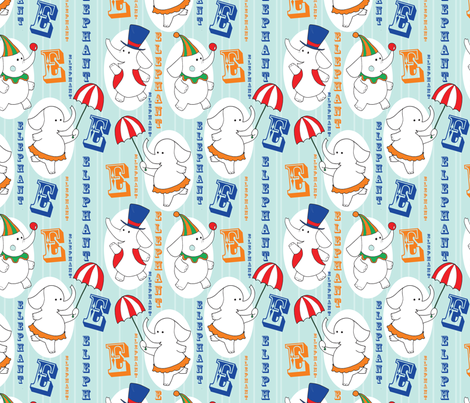 circus_time fabric by nesting_patch_ on Spoonflower - custom fabric