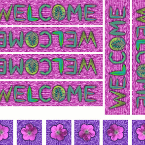 Welcome Quilt borders and corners