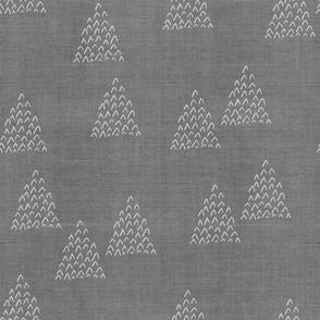 Desert Mudcloth . Gray Pinon Pines