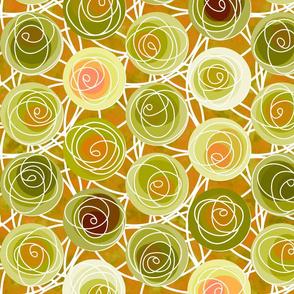 renne's roses in olive