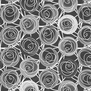 renne's roses in gray