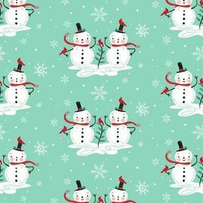Snowman_Couple_on_aqua