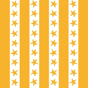 circus stripes // circus nursery baby fabric - yellow