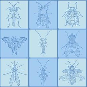 Blue Bug Grid Tile