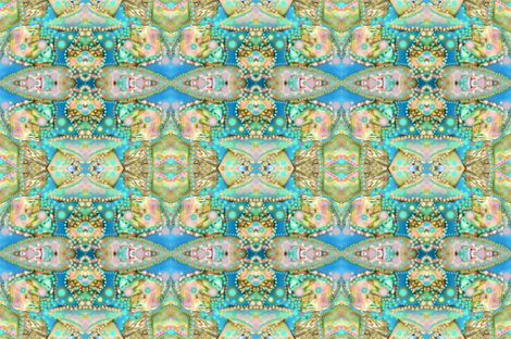 abalone riff fabric by liberation on Spoonflower - custom fabric