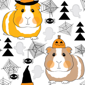 halloween guinea pigs-on-white