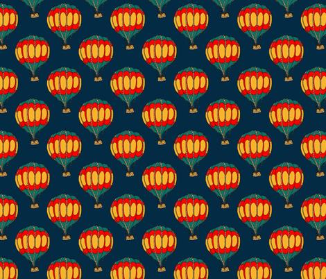 Circus Balloons fabric by marybottom on Spoonflower - custom fabric