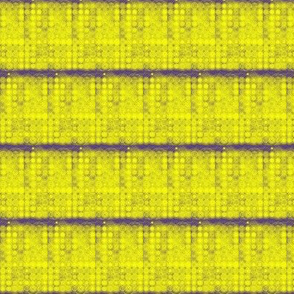 Lemon Spots on Violet - Horizontal Stripes