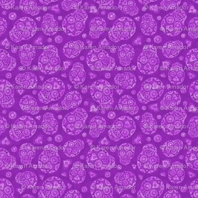 Lavender Sugar Skulls