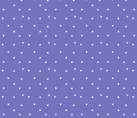Purple Triangles fabric by printablecrush on Spoonflower - custom fabric