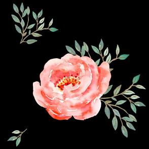 "21"" Fifth Avenue Single Floral"