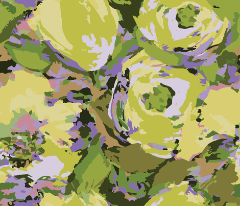 High desert florals fabric by lauren_mccrea on Spoonflower - custom fabric