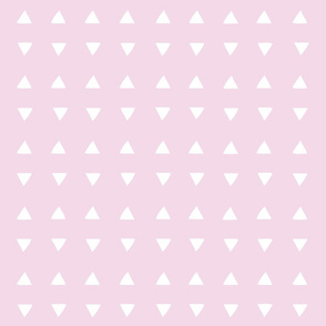 Tiny Triangles - Pretty Pink