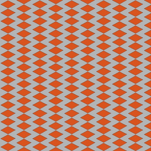 Diamond - Orange gray