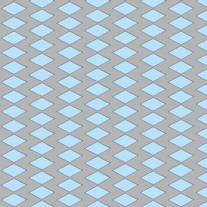 zig zag blue and gray