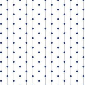 Delft Dots White