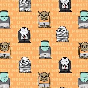 little monster - orange