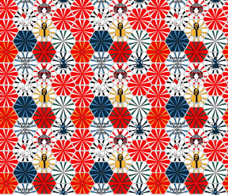 Retro Big Top fabric by fatcat_designs on Spoonflower - custom fabric