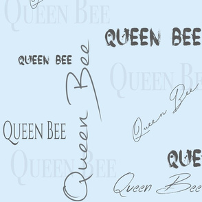 Queen Bee - Powder Blue