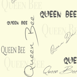 Queen Bee - Soft Yellow