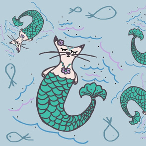 Purrmaids Kitty Cat Mermaids