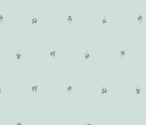 PalmTreePattern fabric by paulvillegoods on Spoonflower - custom fabric