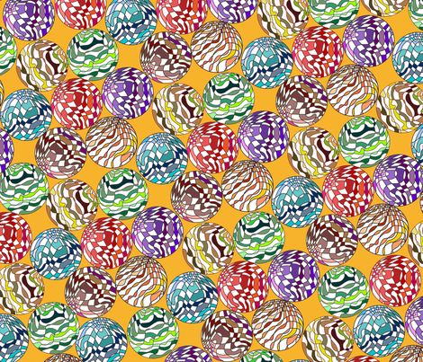 contiguous sphericles fabric by hypersphere on Spoonflower - custom fabric