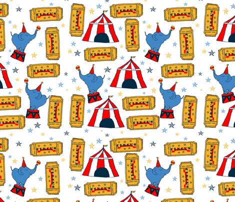 Ticket_to_Ride fabric by oceangirlcreativeco on Spoonflower - custom fabric