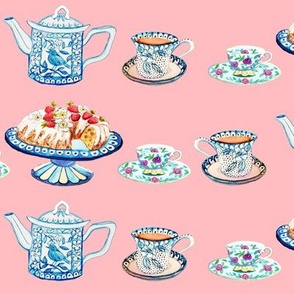 Jane Austen's tea and cake