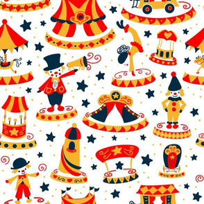 Stars of the circus