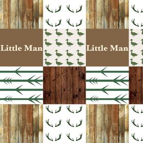 Little man 2 woodplank duck wholecloth