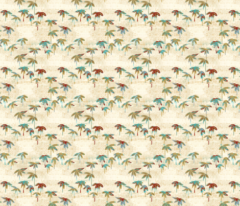 baby bamboo - classic orient fabric by designed_by_debby on Spoonflower - custom fabric