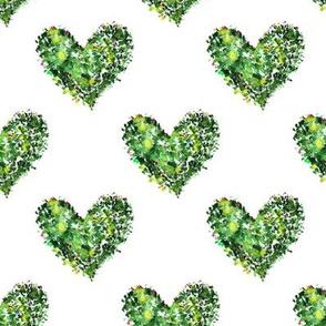 Xmas hearts