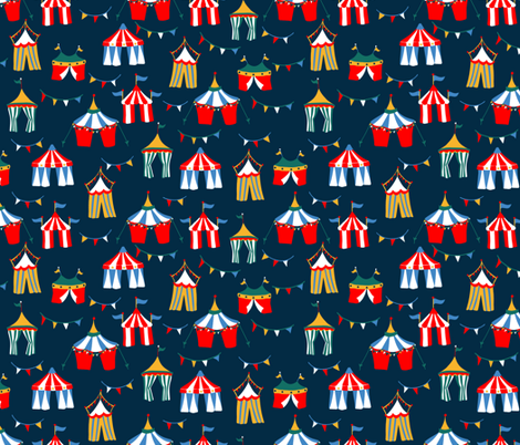 Big_Top_Dreams fabric by brittany_vogt on Spoonflower - custom fabric