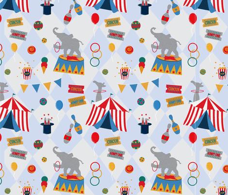 RetroCircus_Simonet_01 fabric by kathrynmeta on Spoonflower - custom fabric