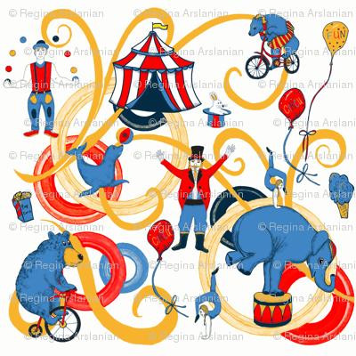 Retro Circus Fun