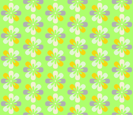 Springy Blooms fabric by twigsandblossoms on Spoonflower - custom fabric