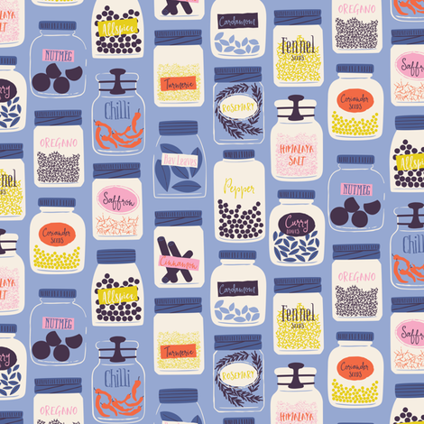 Bouillabaisse fabric by zesti on Spoonflower - custom fabric