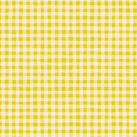 Bouillabaisse gingham fabric by zesti on Spoonflower - custom fabric