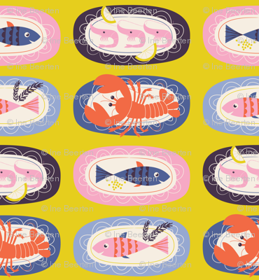 Bouillabaisse plates
