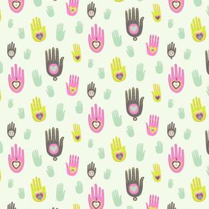Bohemian Love Hands