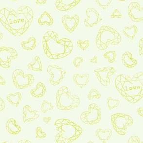 Bohemian Love geo hearts