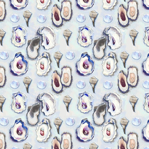 Oyster Collage