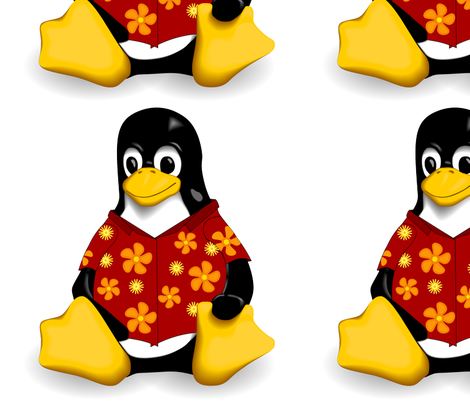 CasualTux fabric by casualtux on Spoonflower - custom fabric